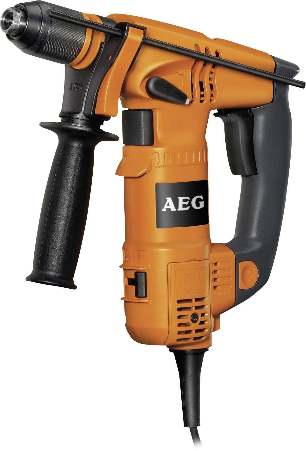 Príklepová vŕtačka AEG Powertools ERGOMAX 4935 4123 96, 750 W, + púzdro