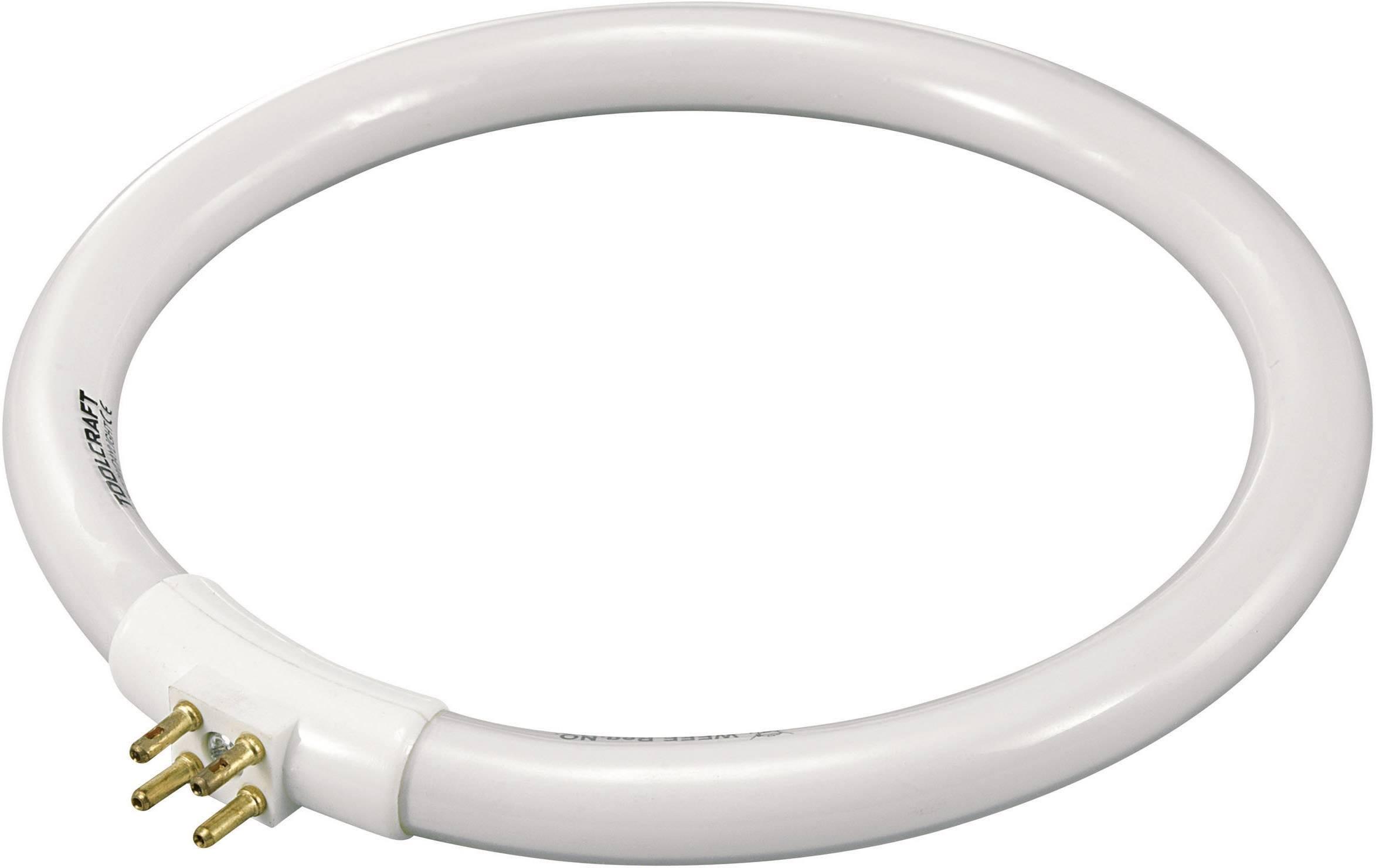Kruhová úsporná zářivka Toolcraft T4, 12 W, G10q