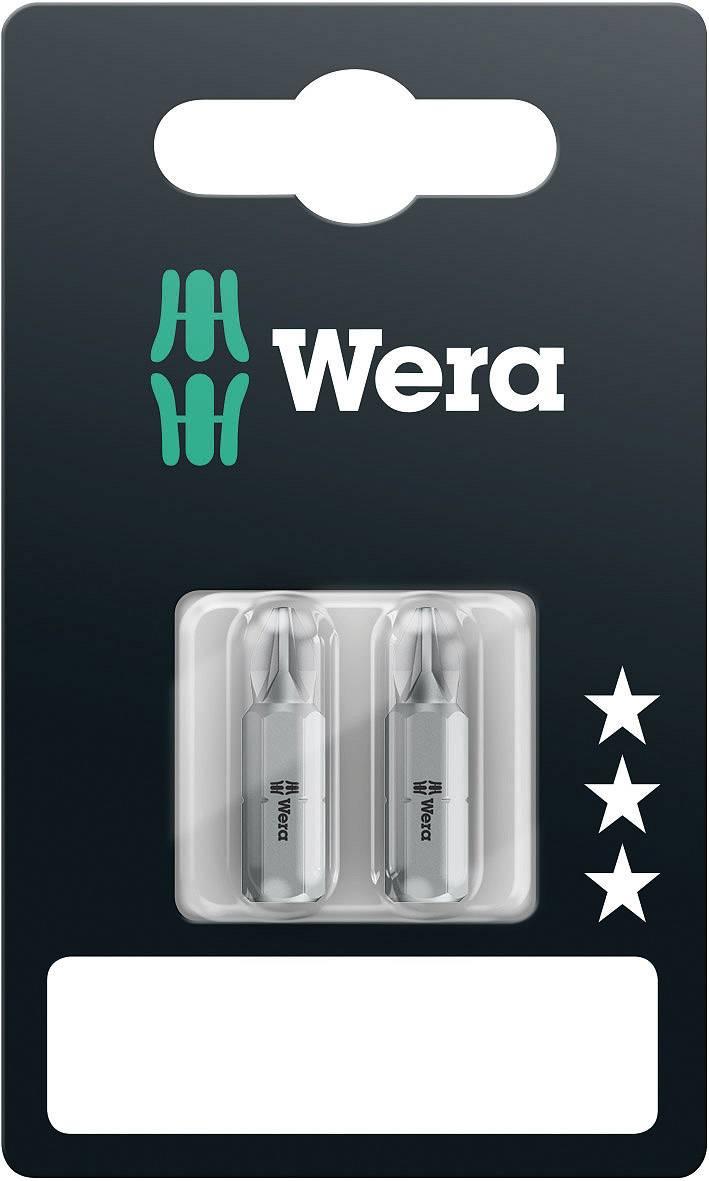 Krížový bit Wera 855/1 Z SB SiS 05073309001, 25 mm, nástrojová oceľ, 2 ks