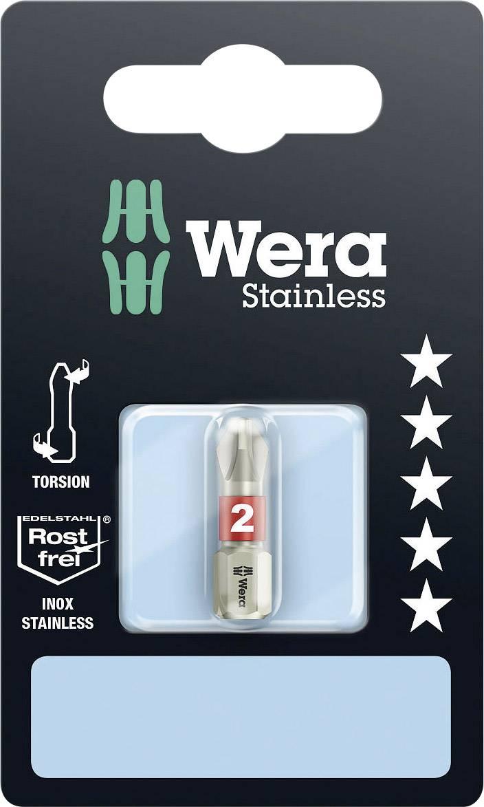 Křížový bit Wera 05073611001, 25 mm, nerezová ocel, 1 ks