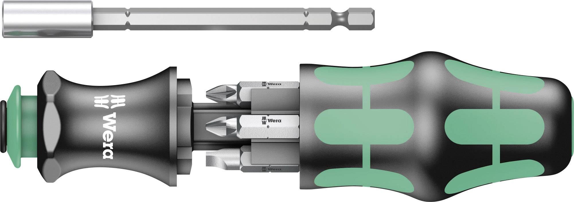 """Bitový skrutkovač Wera 05073240001, vrátane bitov, 1/4"""" (6,3 mm)"""