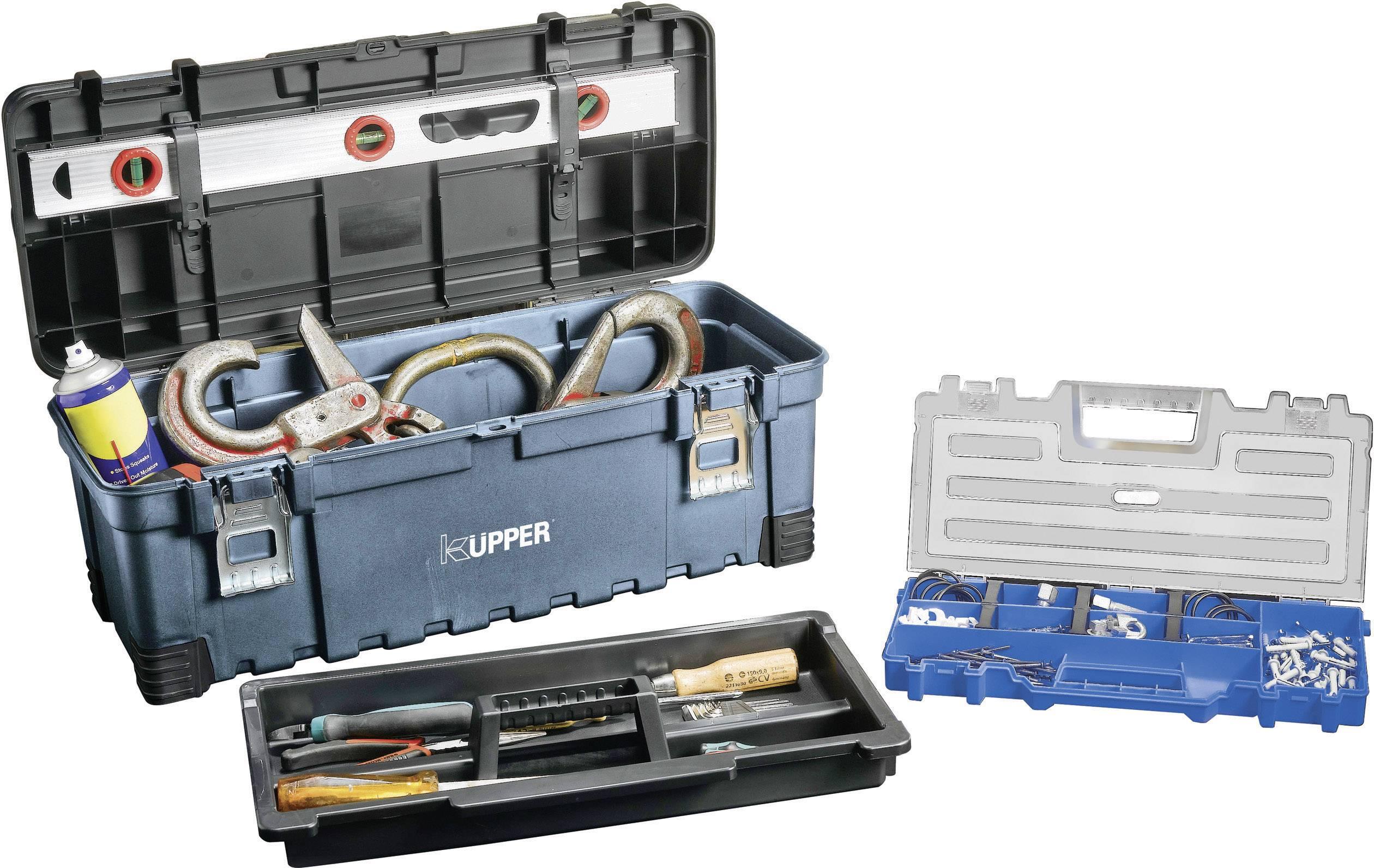 Box na náradie Küpper 50150, (š x v x h) 545 x 244 x 279 mmHmotnosť, 2800 g