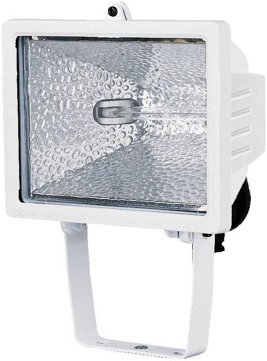 Vonkajší halogénový reflektor Brennenstuhl H 500, 500 W, biely