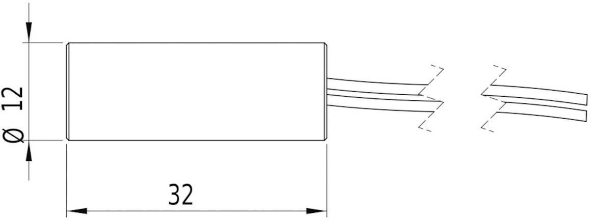 Laserový modul Picotronic 70100075, lineárna, 5 mW