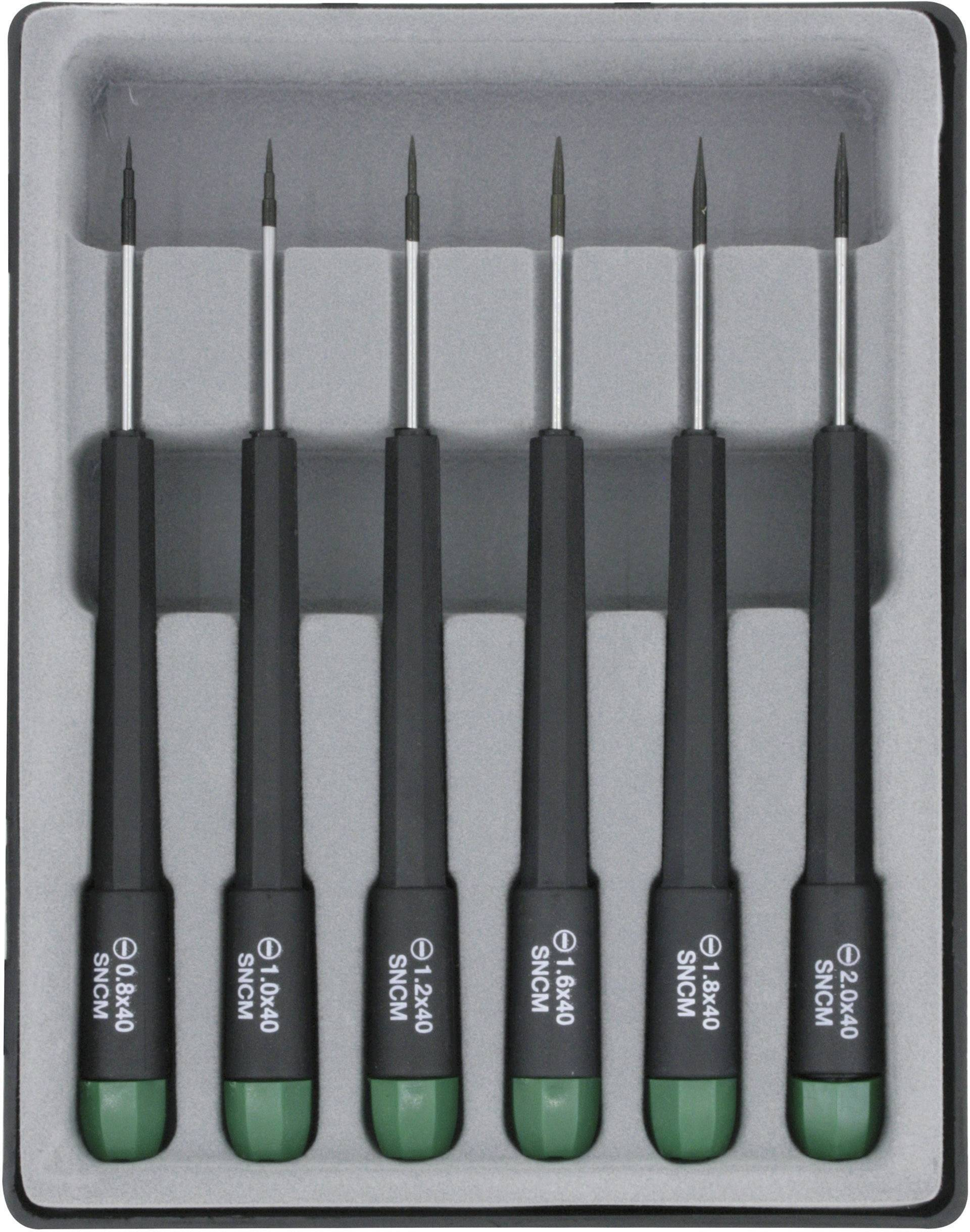 Súprava skrutkovačov pre elektroniku a jemnú mechaniku Donau Elektronik 280-60, 6-dielna