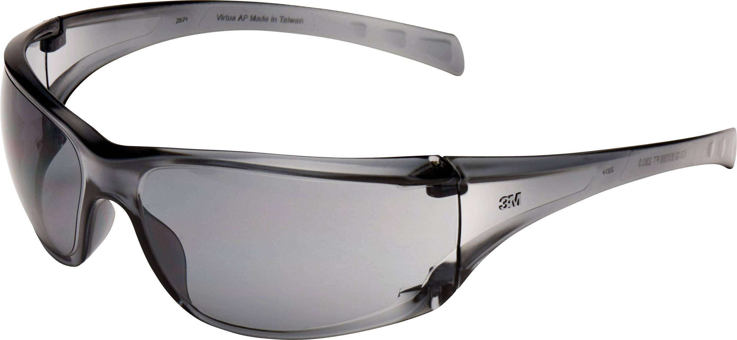Ochranné okuliare 3M Virtua, sivé