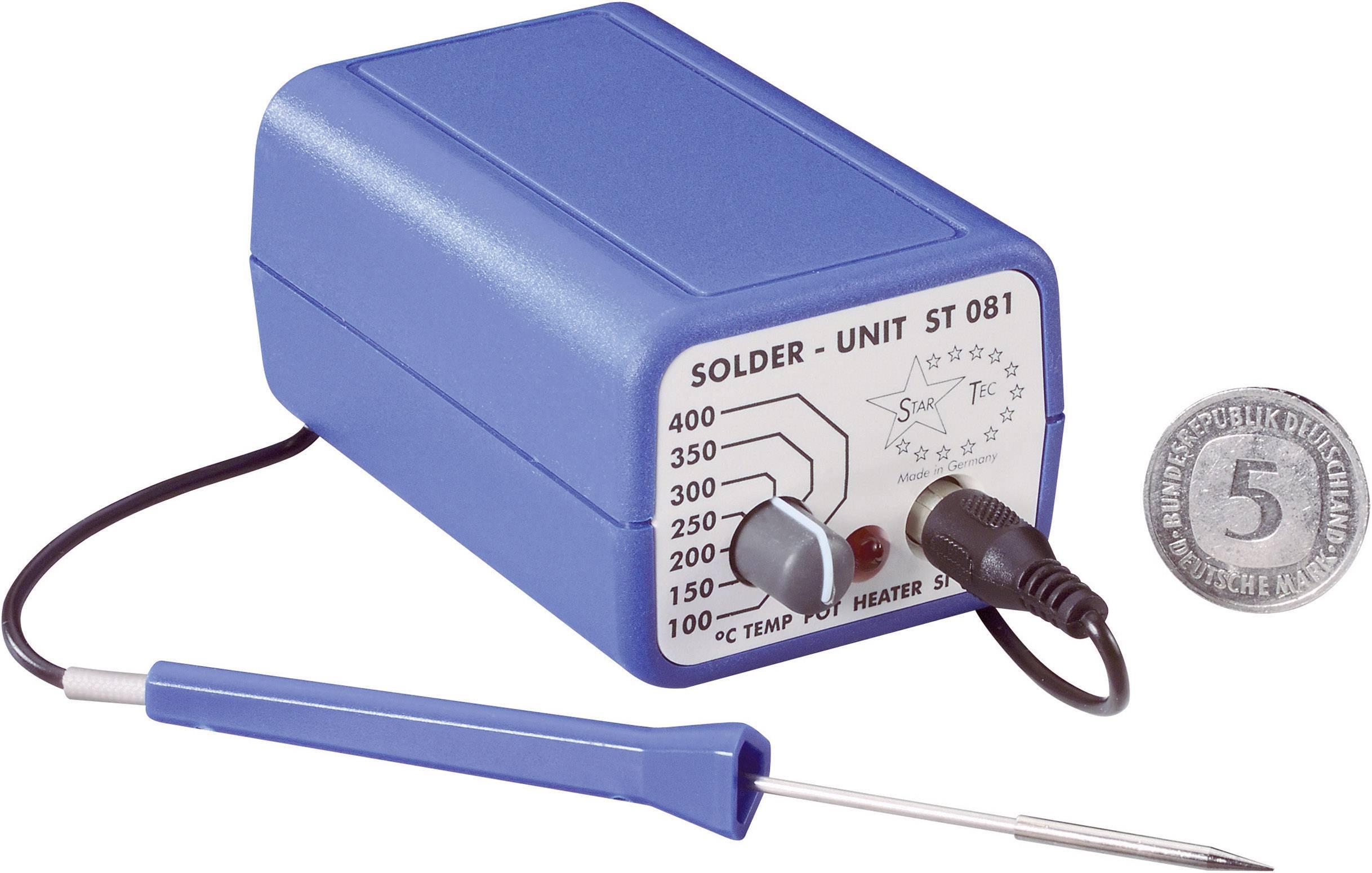 Pájecí stanice Star Tec ST 081 08100, analogový, 10 W, +100 až +400 °C