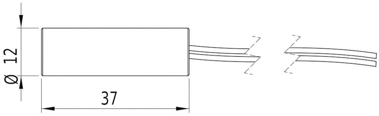 Laserový modul Picotronic 70109559, lineárna, 16 mW