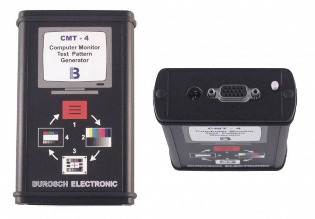 Testovací generátor obrazu Burosch CMT-4