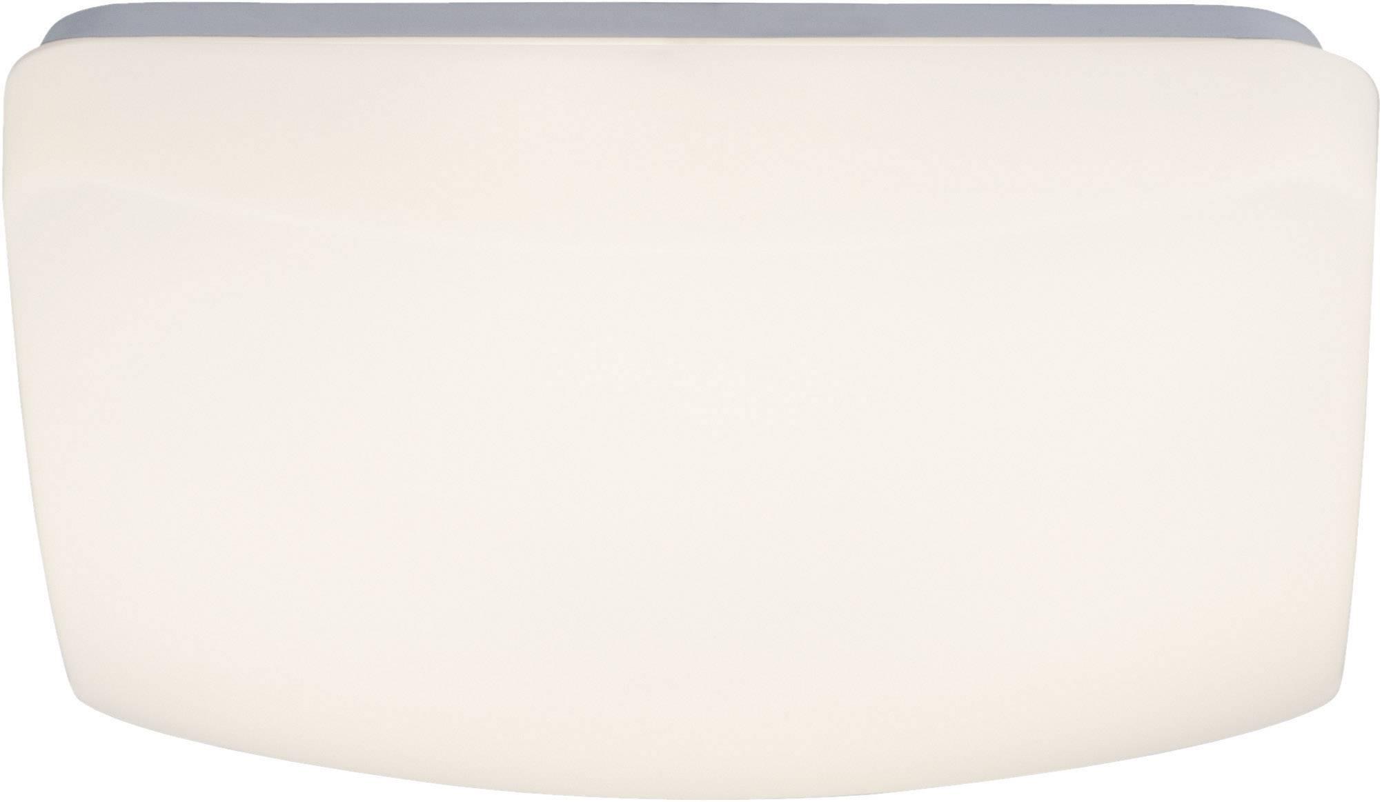 LED stropné svietidlo Brilliant Vigor G94158/05, 12 W, teplá biela, biela