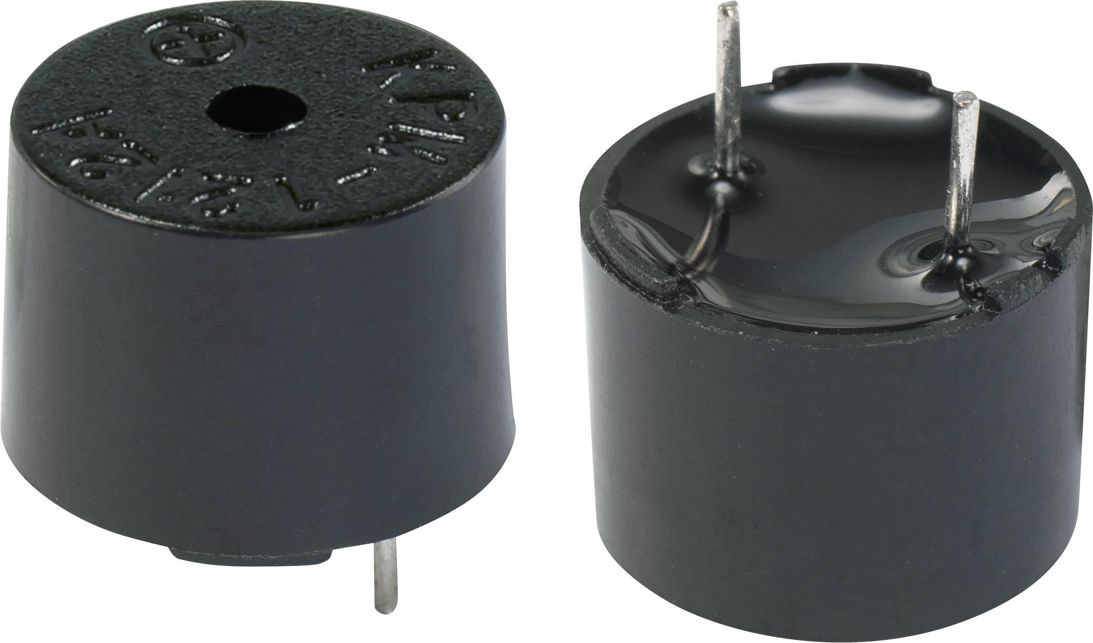 Magnetický akustický měnič bez elektroniky KEPO KPM-G1212A9-K9219, černá
