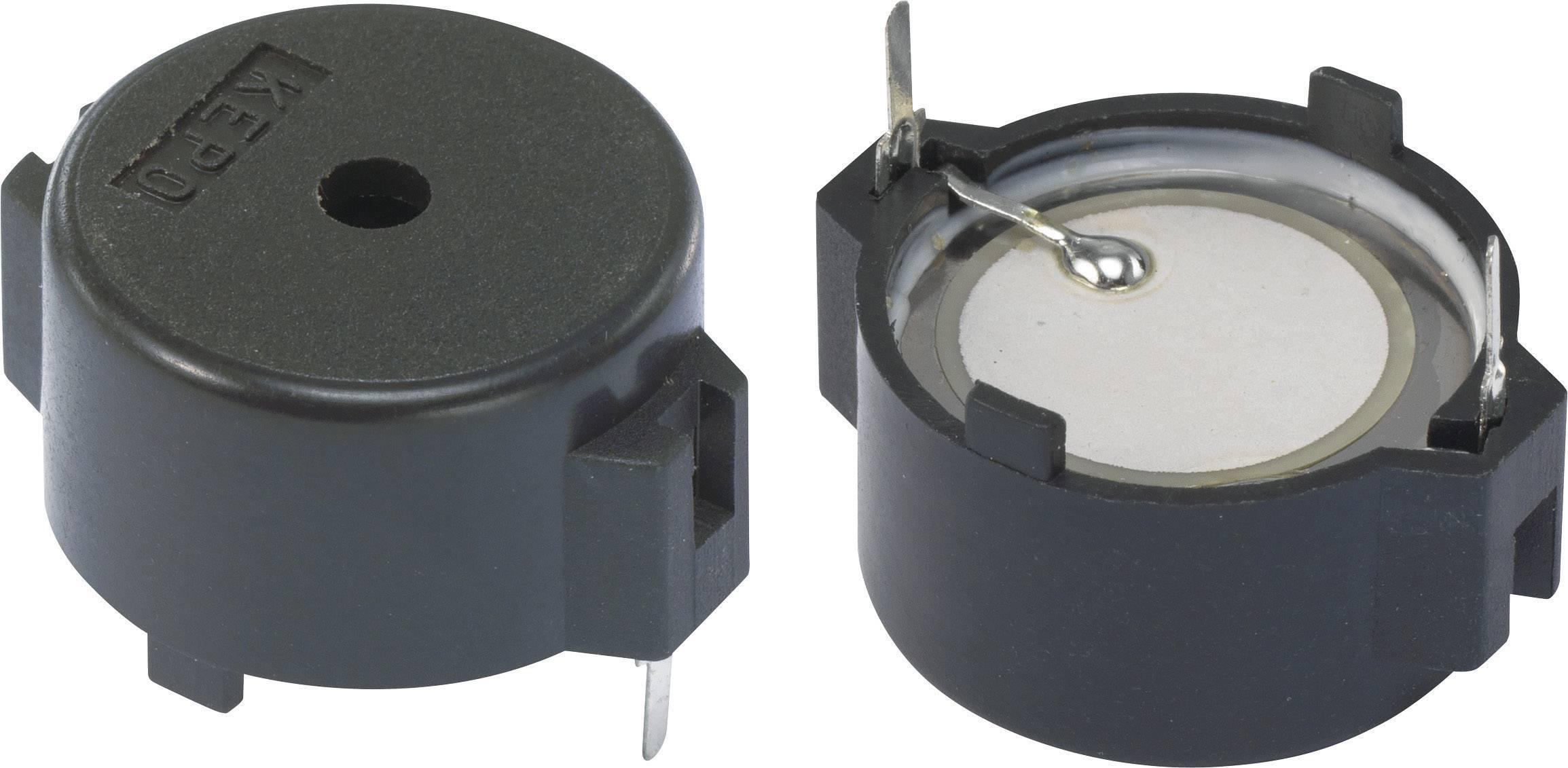 Piezo měnič 83 dB KEPO KPT-G1911-K9206, černá
