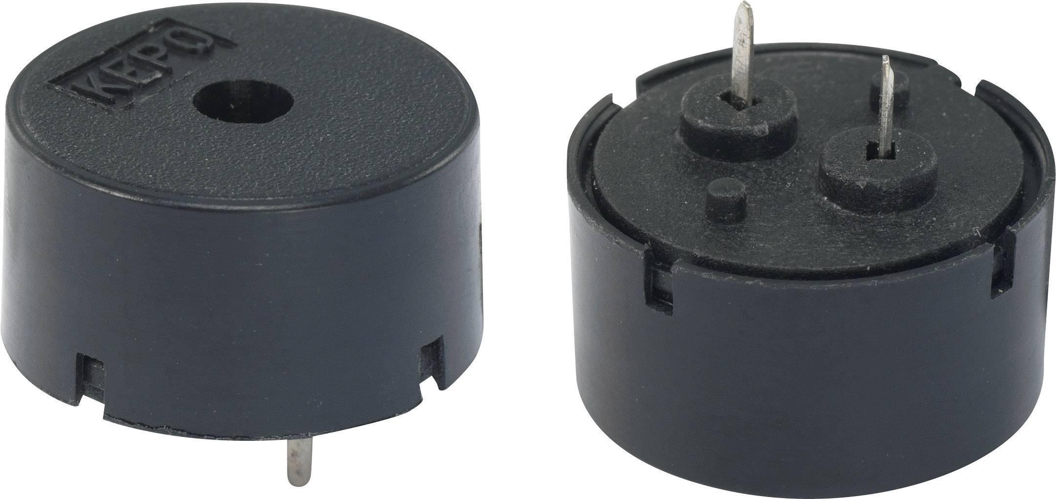 Piezo měnič 80 dB KEPO KPT-G1411-K9205, černá