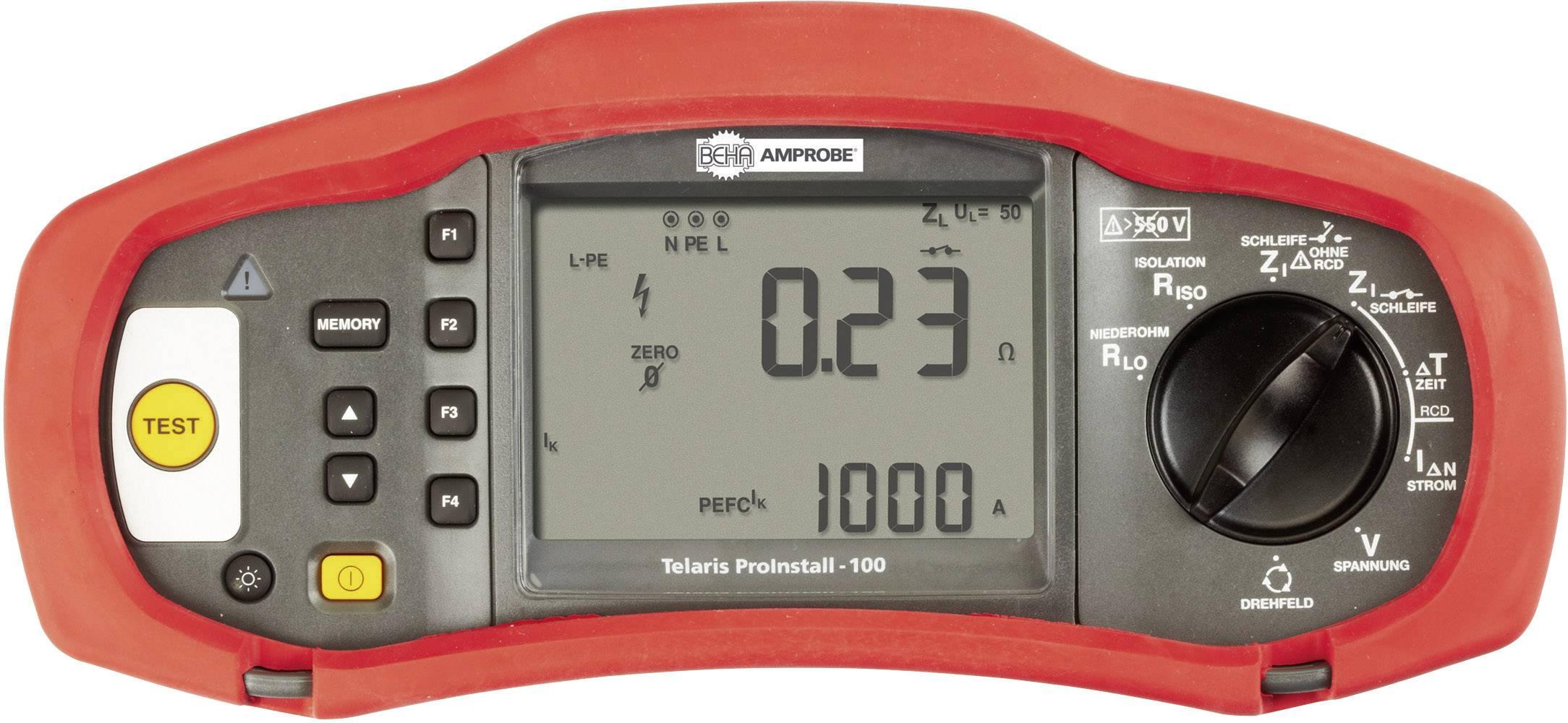 Revízny prístroj Beha AMPROBE TELARIS Proinstall 100-D, 4373971