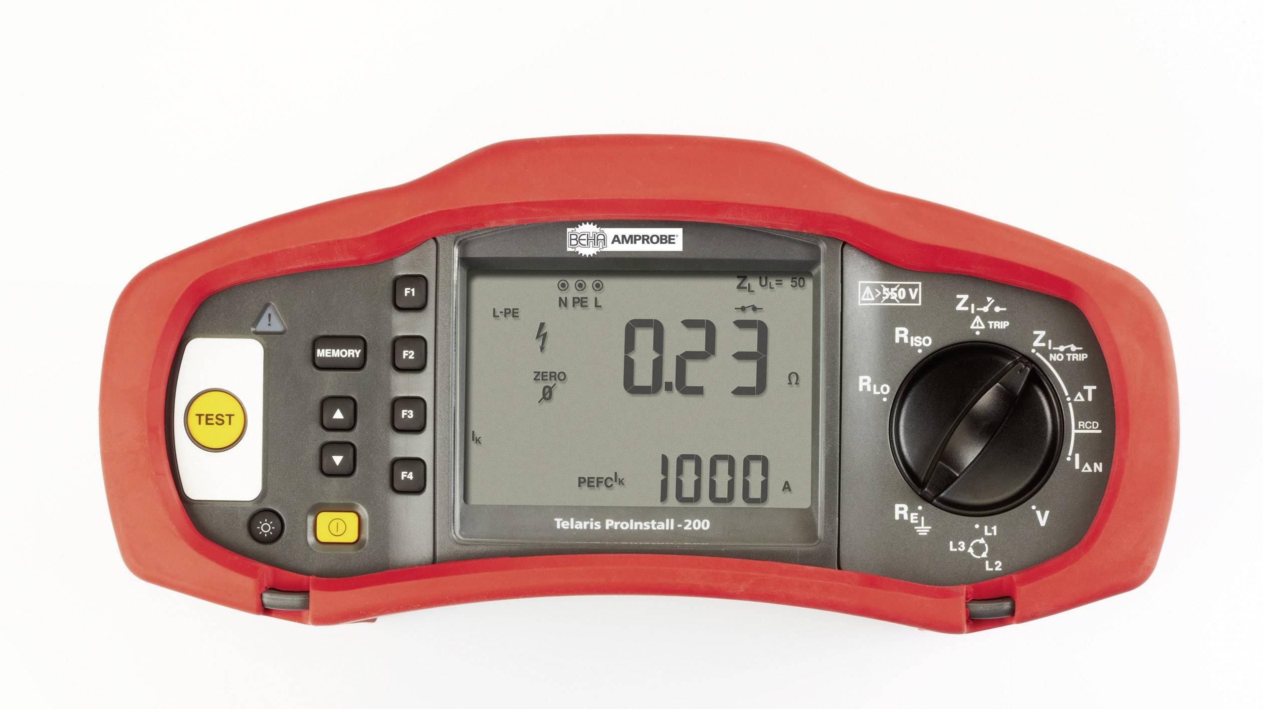 Revizní přístroj Beha Amprobe Telaris ProInstall 200-D, 4373980