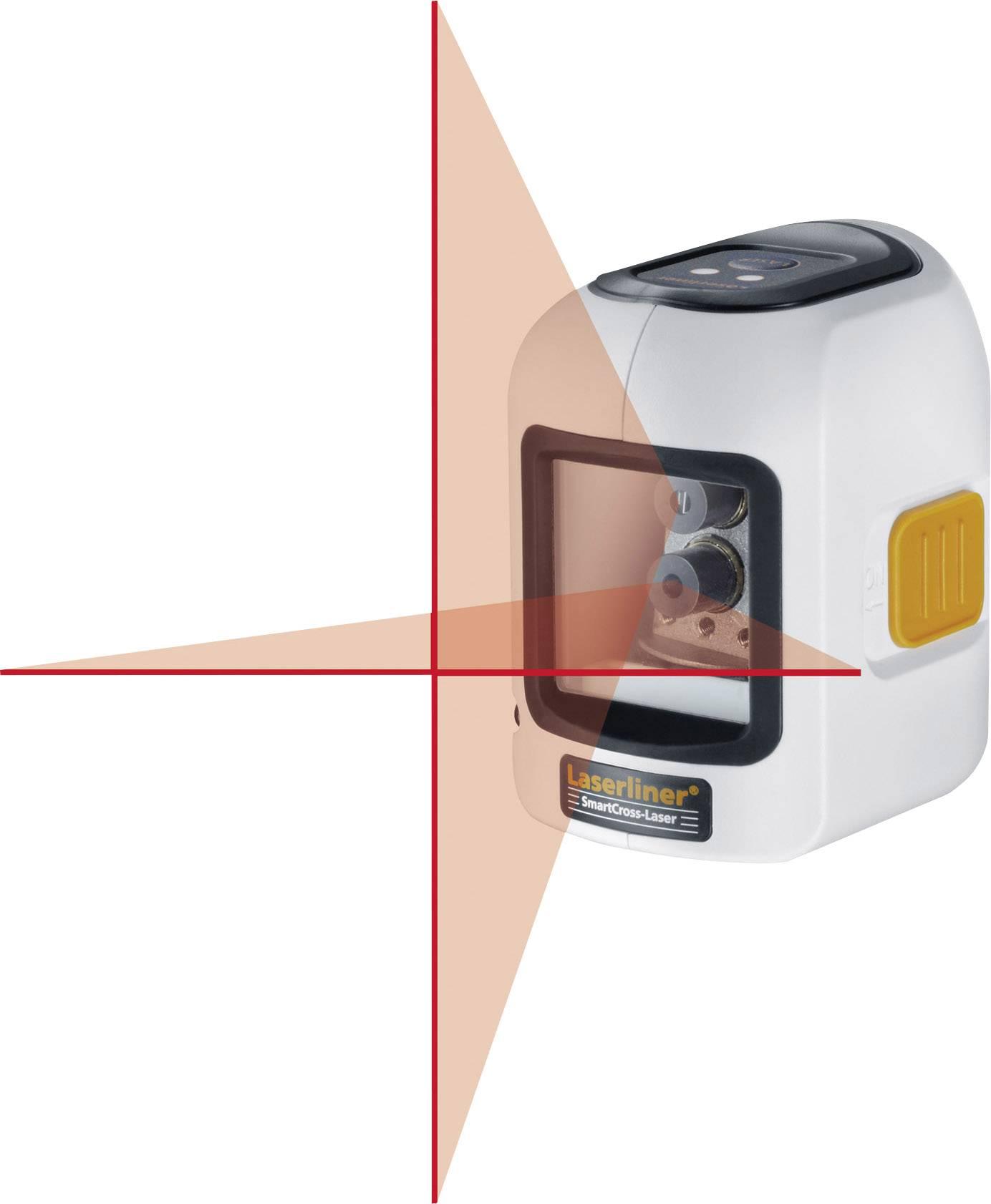 Křížový laser samonivelační Laserliner SmartCross-Laser, dosah (max.): 10 m, kalibrováno dle ISO
