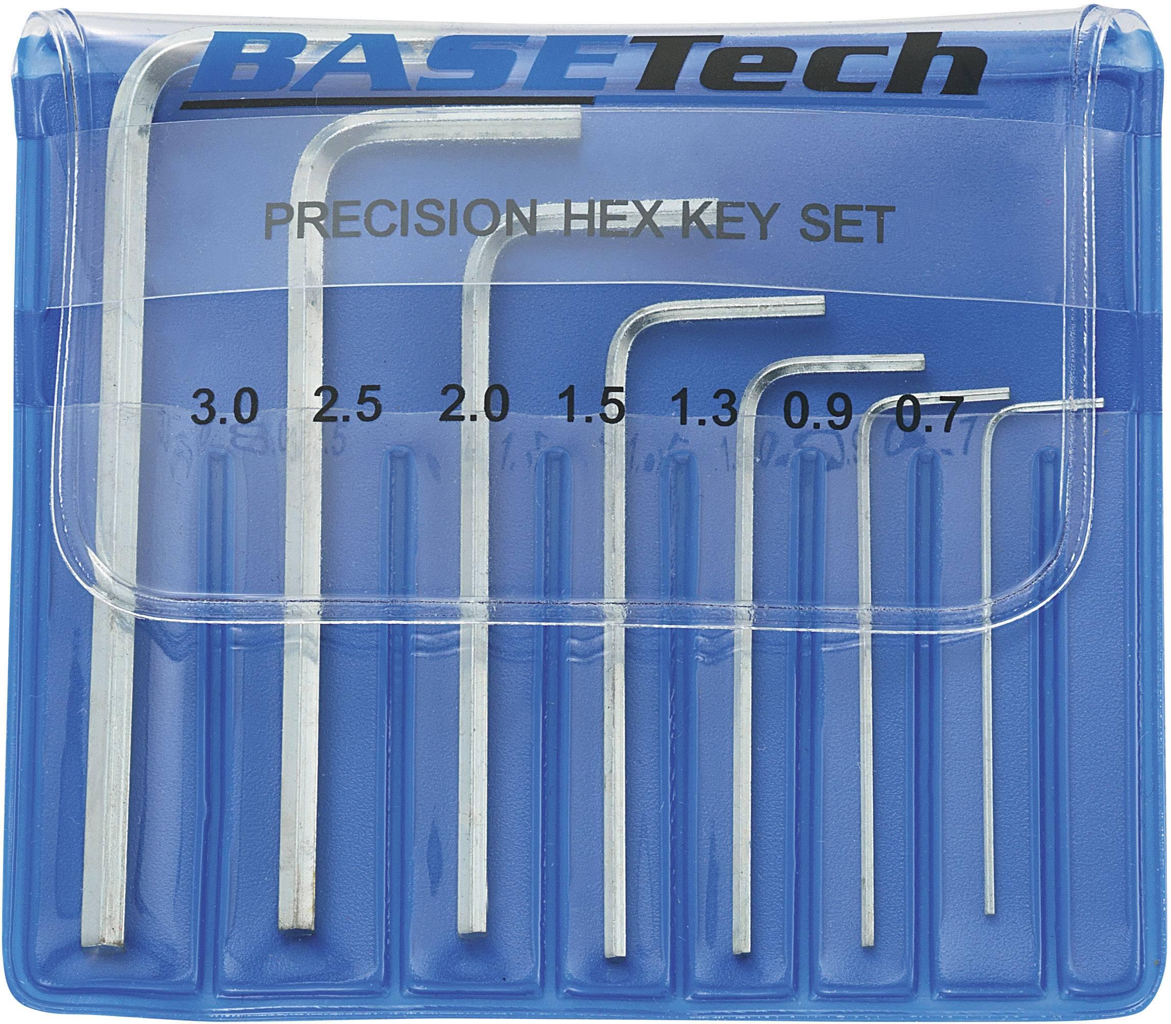 Sada zahnutých kľúčov Basetech 818955, 7-dielna
