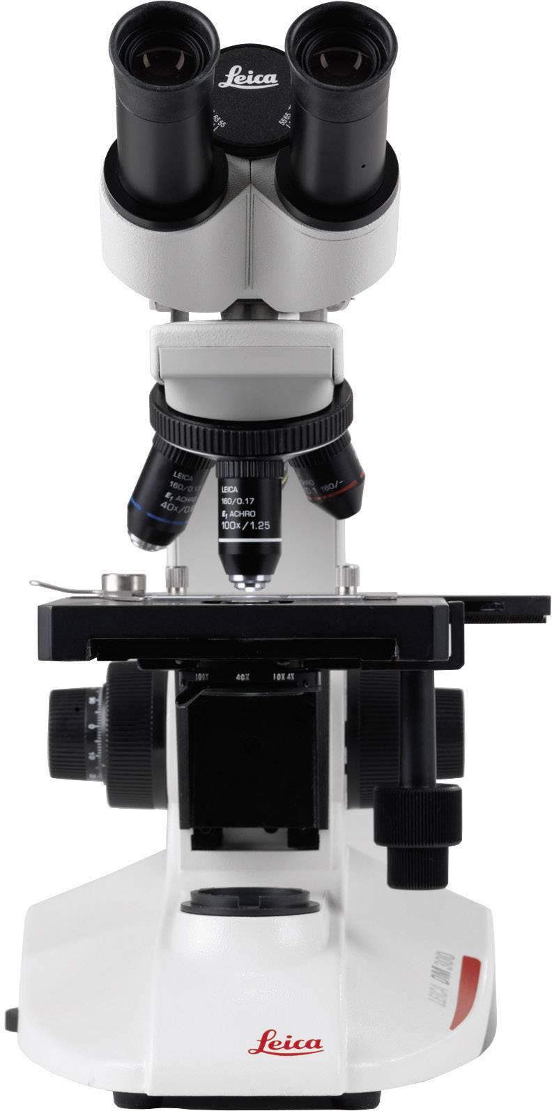 Mikroskop Leica Microsystems DM300, binokulárny, 4x, 10x, 40x, 100x, 13613304