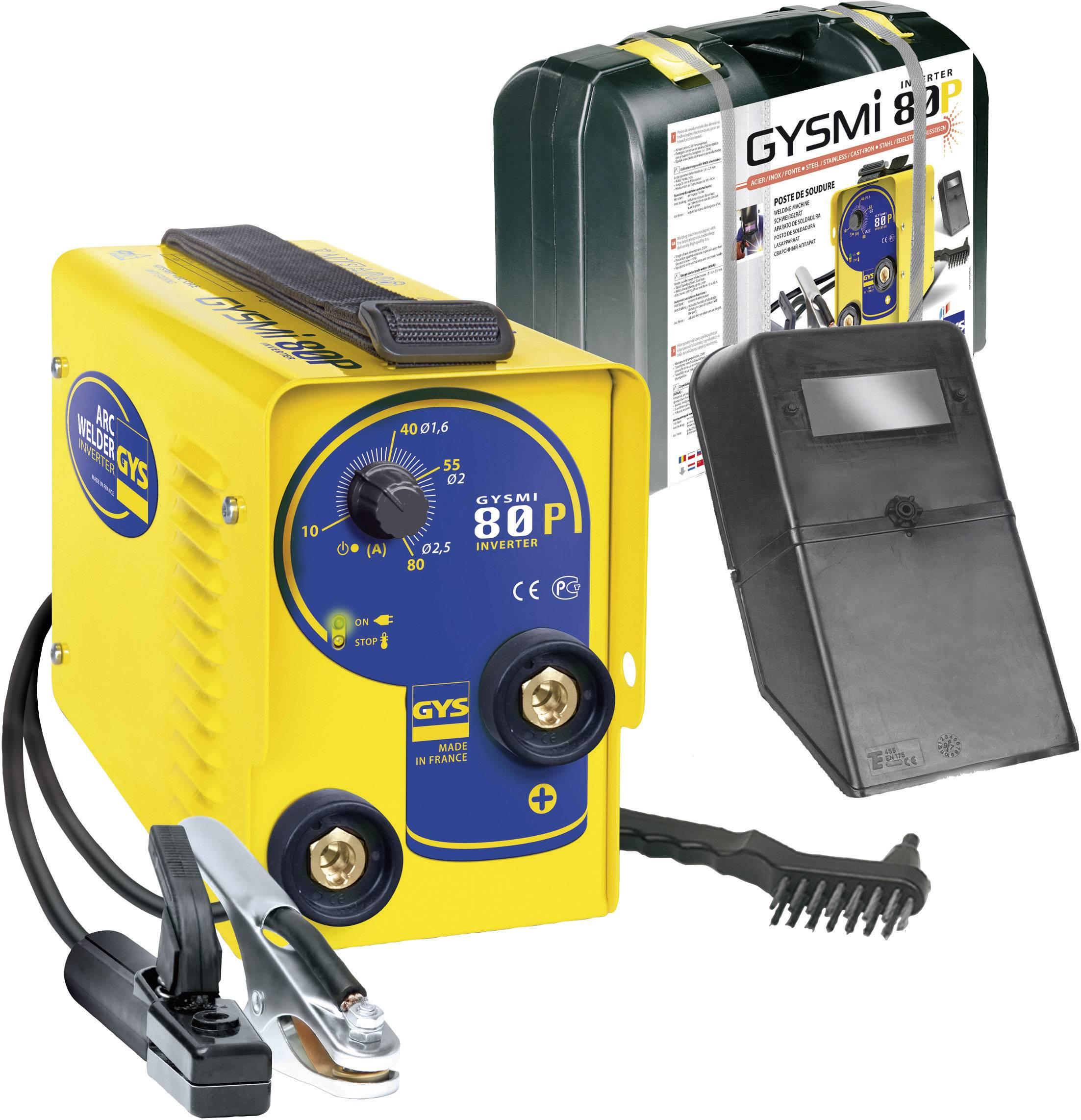 Elektrická zváračka GYS I 80P 029941, 10 - 80 A
