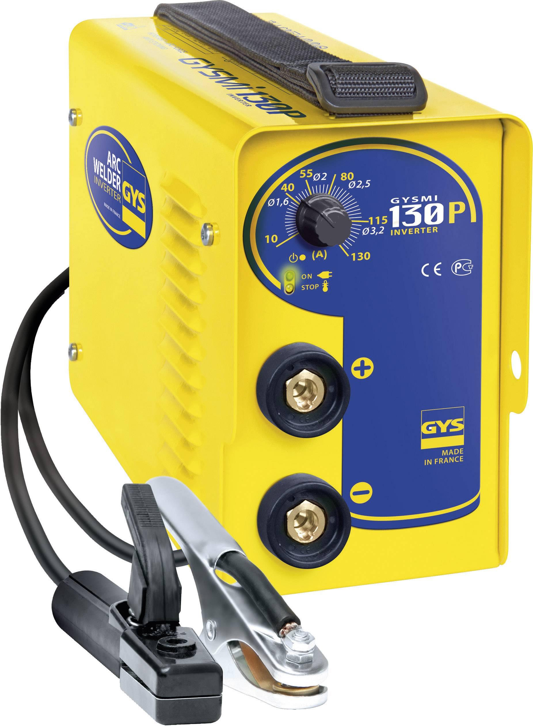 Elektrická zváračka GYS I 130P 029972, 10 - 130 A