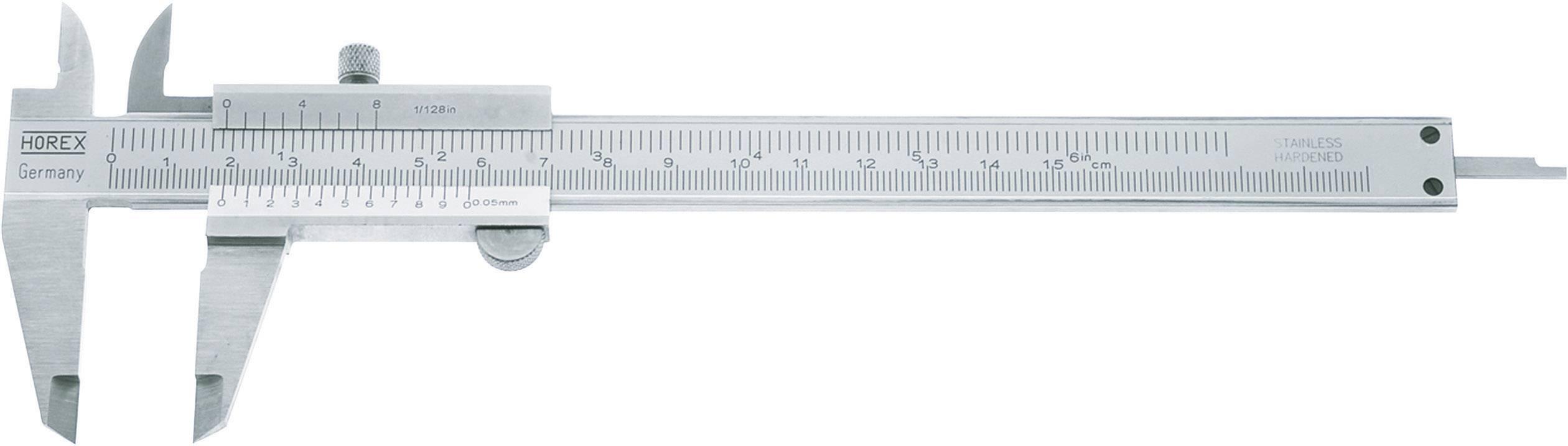 Vreckové posuvné meradlo Horex 2226522, rozsah merania 300 mm