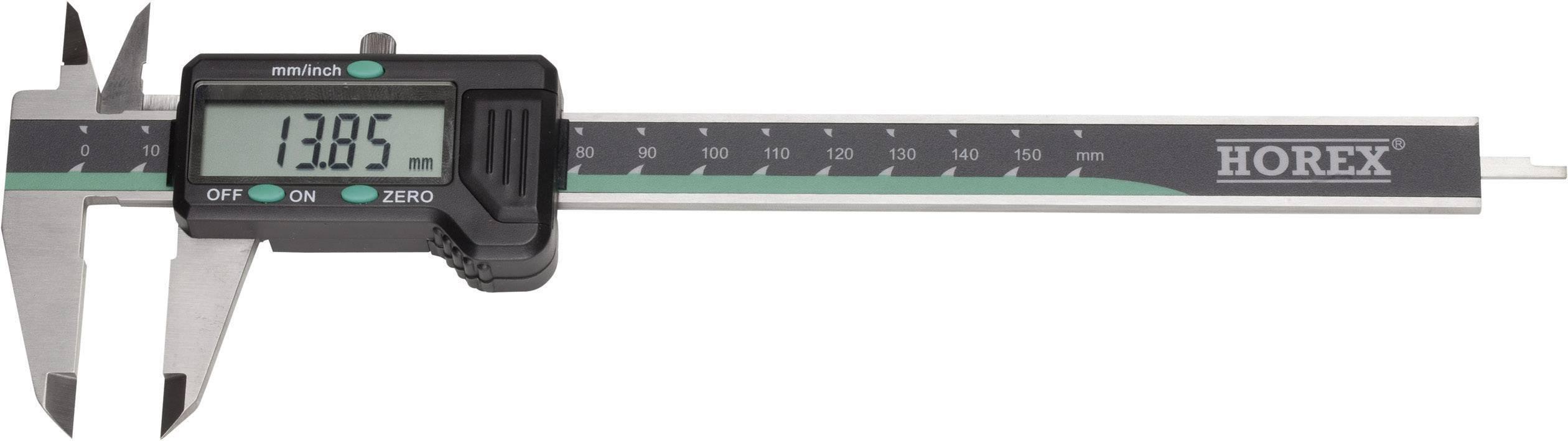 Digitální posuvné měřítko Horex 2211222, měřicí rozsah 300 mm, Kalibrováno dle vlastní