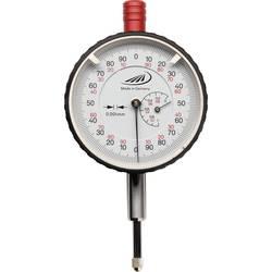Úchylkoměr s ochranou proti nárazu Helios Preisser 0705107, 0,001 mm, kalibrováno dle ISO
