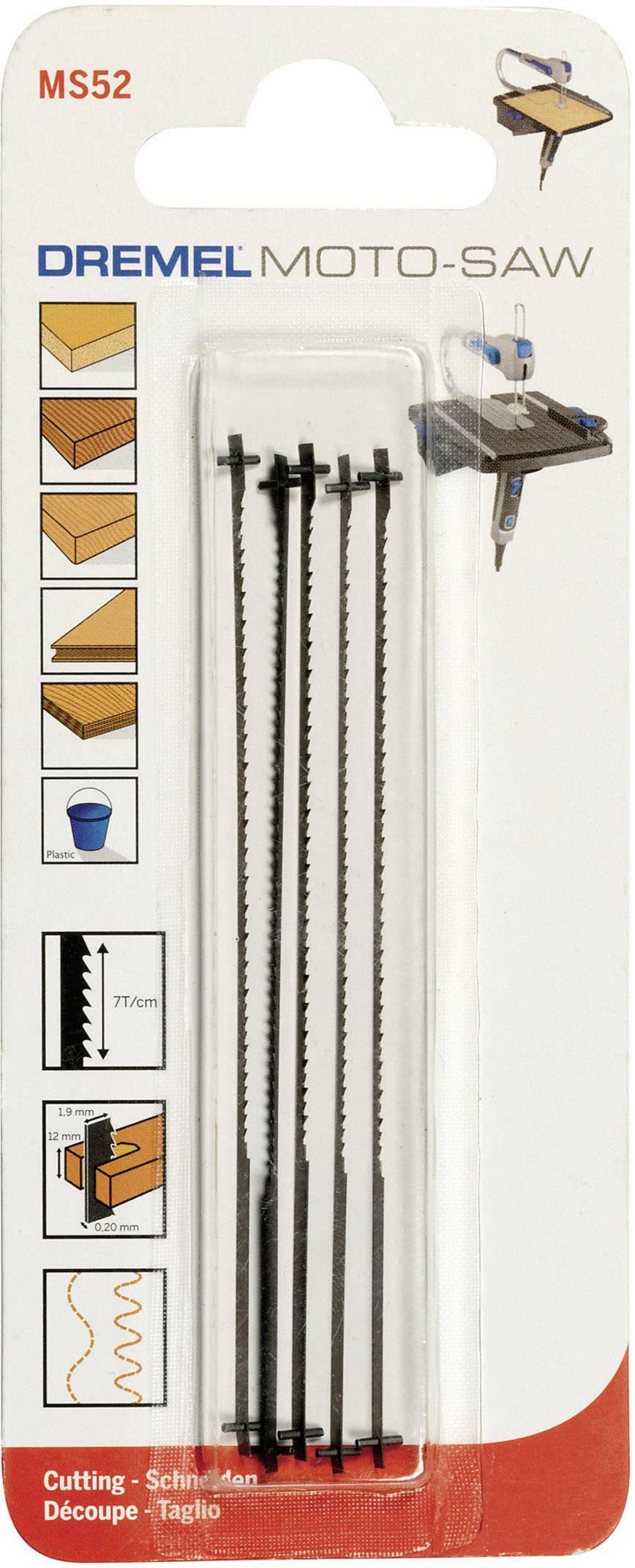 Pilový list jemný Dremel MS52 Moto-Saw, 5 ks