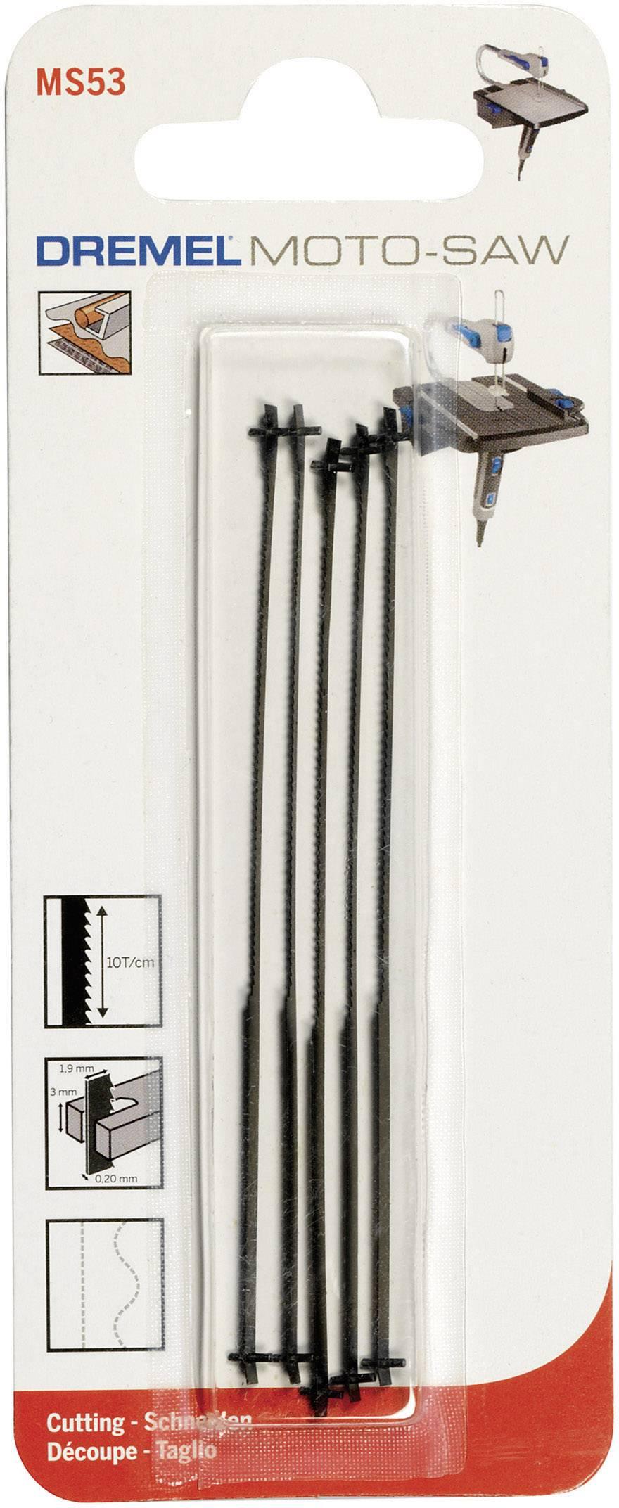 Pilový list Dremel MS53 Moto-Saw, 100 mm, 5 ks