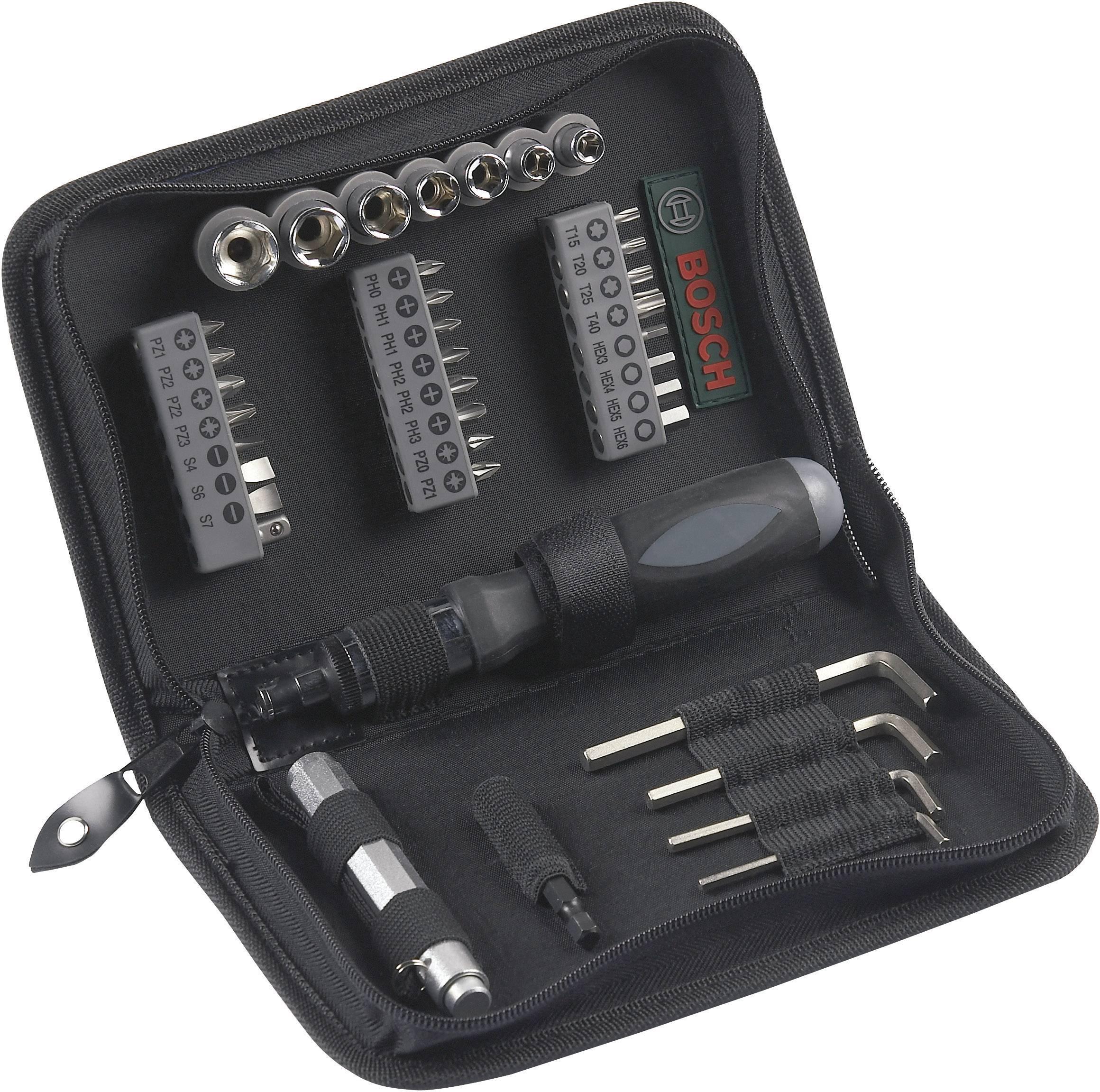 Sada náradia v púzdre pre údržbára Bosch Accessories Promoline 2607019506