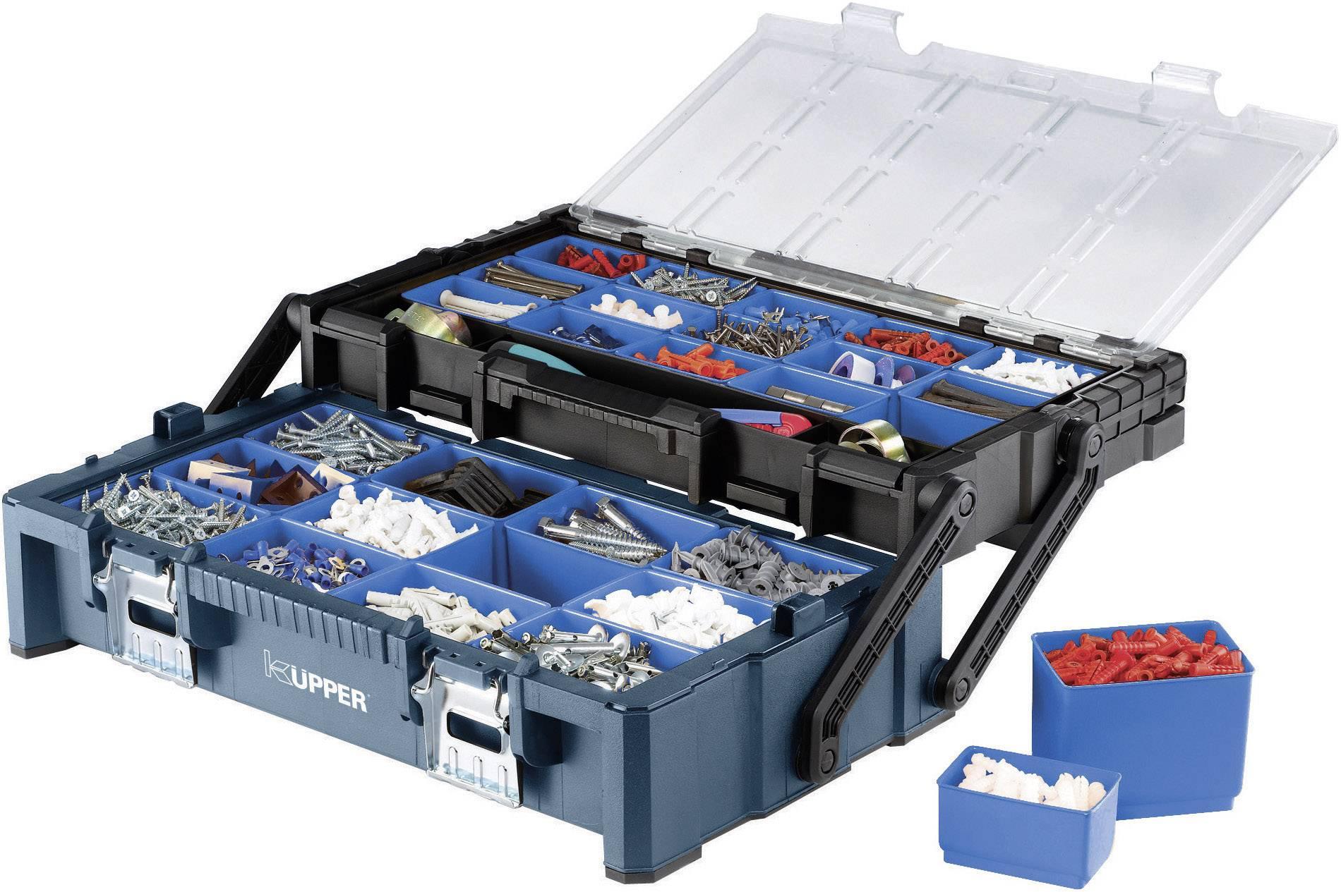 Box na náradie Küpper 50110, (š x v x h) 572 x 167 x 307 mm, umelá hmota