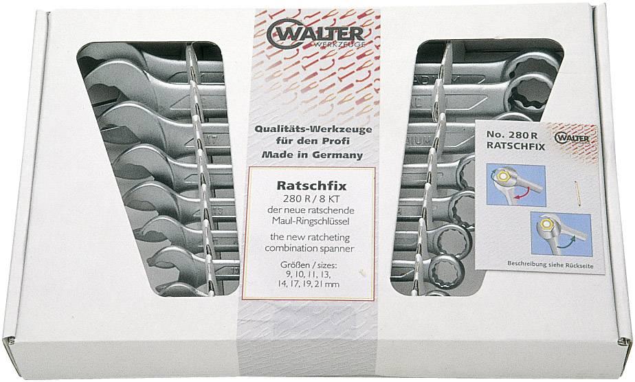 Sada očkoplochých klíčů Walter Werkzeuge 2750083120, 9 - 21 mm, 8dílná