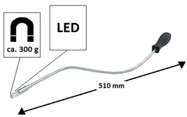 Magnetický zvedák 300 G