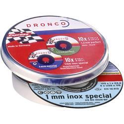 10díl. sada rozbrušovacích kotoučů AS60T INOX 115 x 1 mm