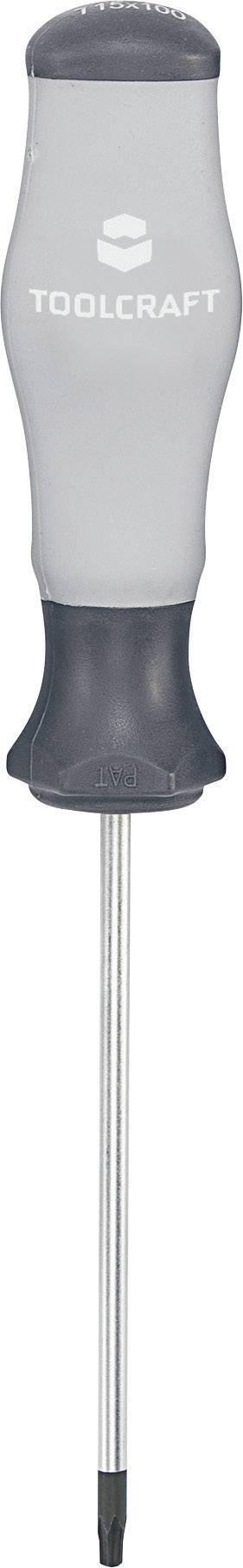 Šroubovák Torx dílna TOOLCRAFT 820722, T 7 x 75 mm,