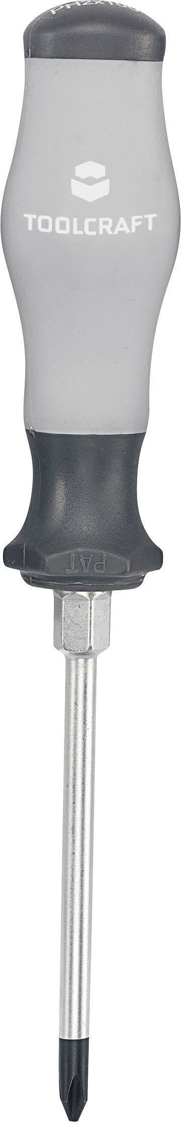 Krížový skrutkovač TOOLCRAFT 820739, PH 1, dĺžka čepele: 75 mm