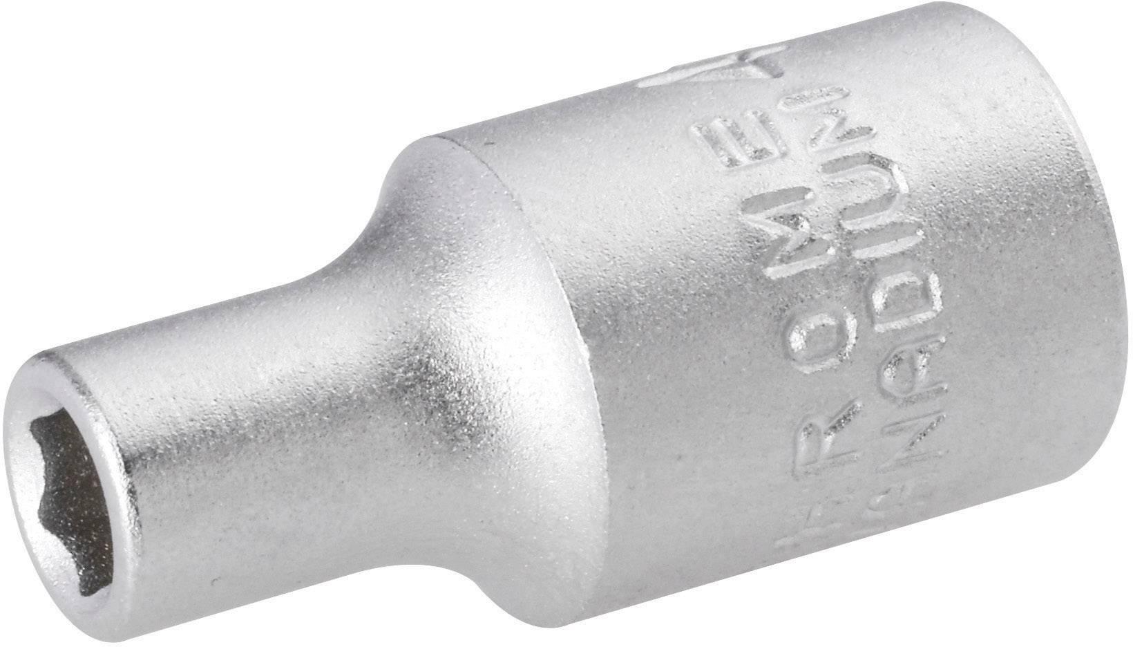 "Nástavec na račňu TOOLCRAFT 820749, vonkajší šesťhran, 1/4"" (6,3 mm), 10 mm, chróm-vanadiová oceľ"
