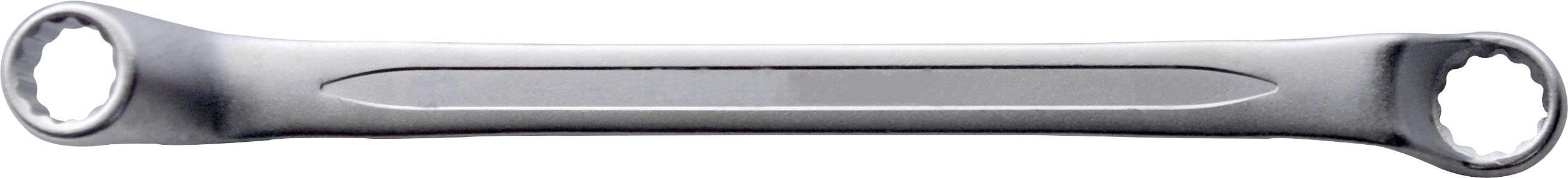 Obojstranný očkový kľúč TOOLCRAFT 820853, 16 - 17 mm, N/A