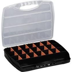 Box na součástky Alutec 56010, 380 x 300 x 60 mm, černá
