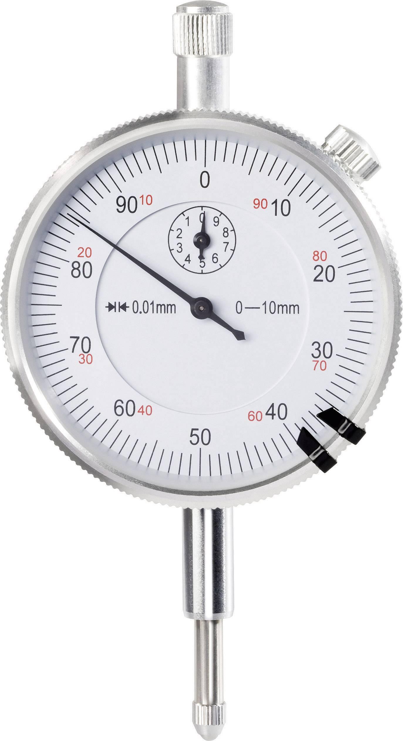 Úchylkomer Toolcraft 821008, 0.01 mm