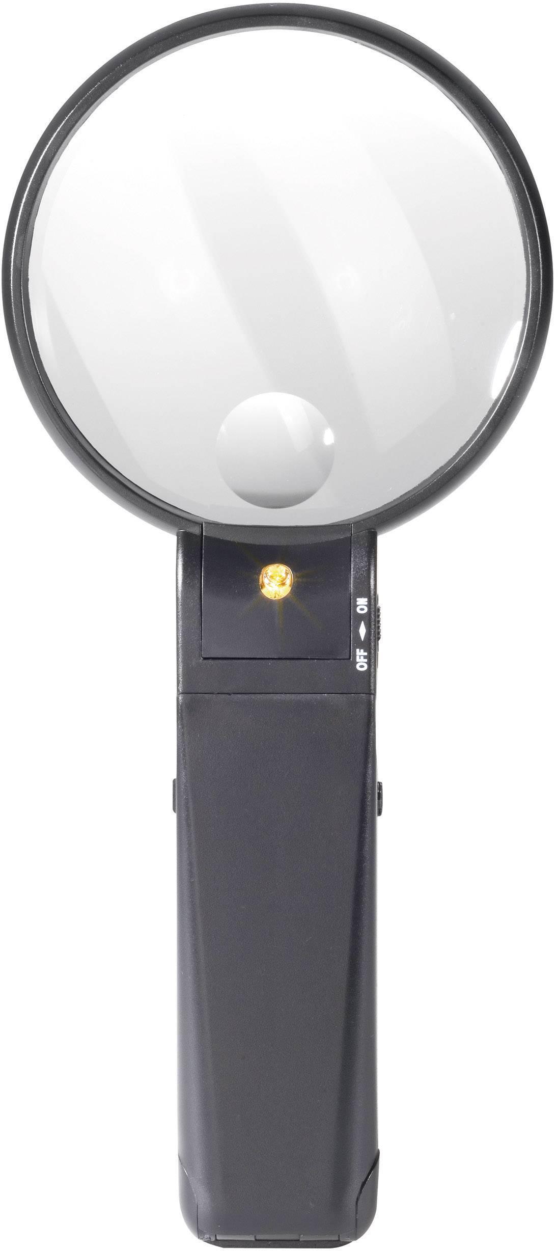 Stolná lupa s osvetlením TOOLCRAFT 821 010