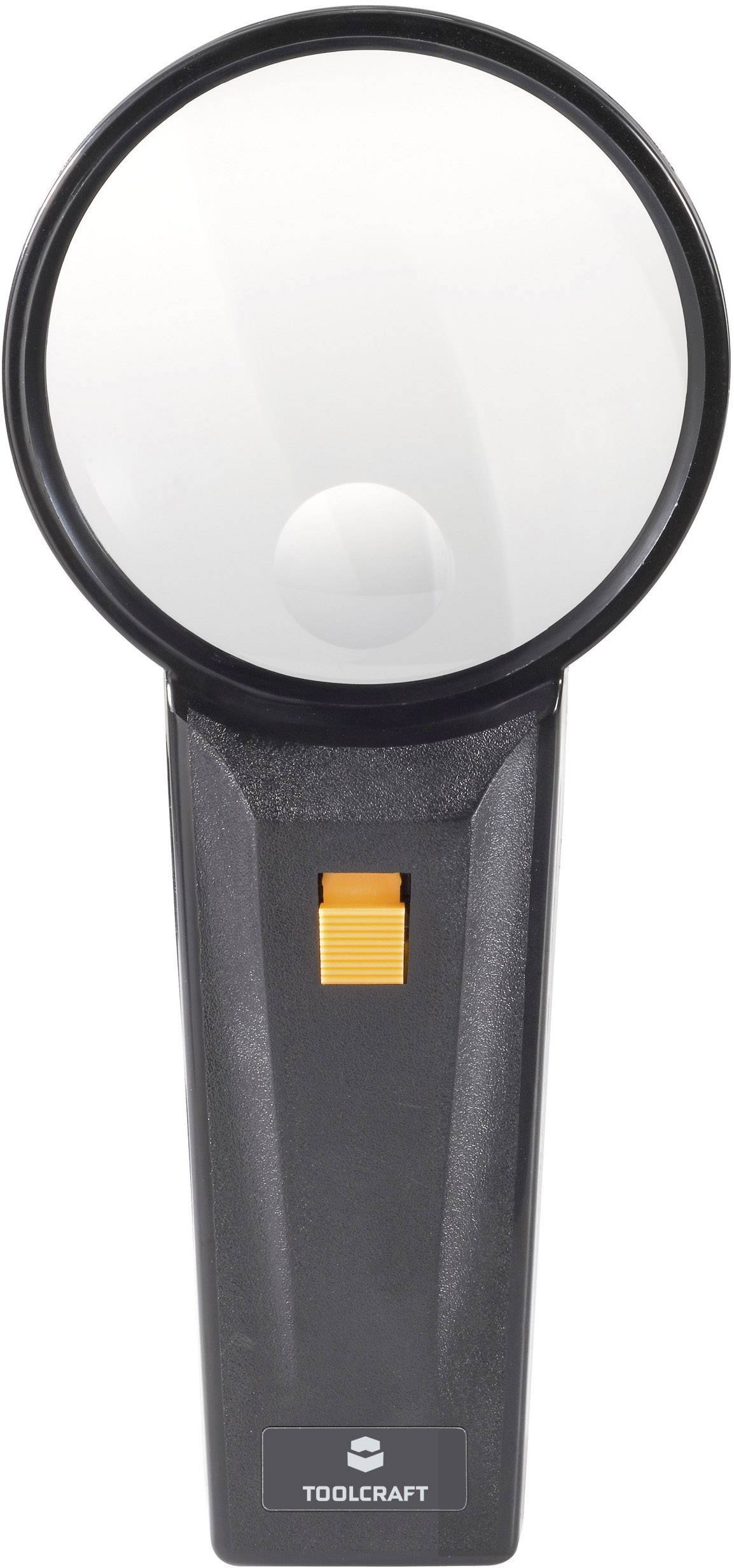 Lupa s osvětlením Toolcraft 821031, 75 mm, 2x/4x