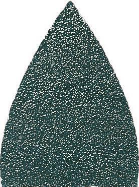 Brúsny prst Fein 63717186019 bez otvorov, zrnitosť 80, (d x š) 51 mm x 37 mm, 20 ks