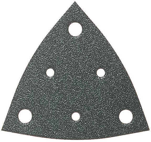Brúsny papier pre delta brúsky Fein 63717108019 na suchý zips, s otvormi, zrnitosť 40, 50 ks