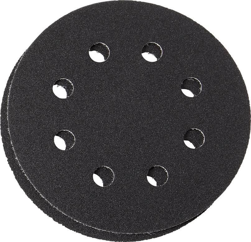 Sada brúsneho papiera pre excentrické brúsky Fein 6 37 17 227 01 0 63717227010 na suchý zips, s otvormi, zrnitosť 60, 80, 120, 180, (Ø) 115 mm, 1 sada