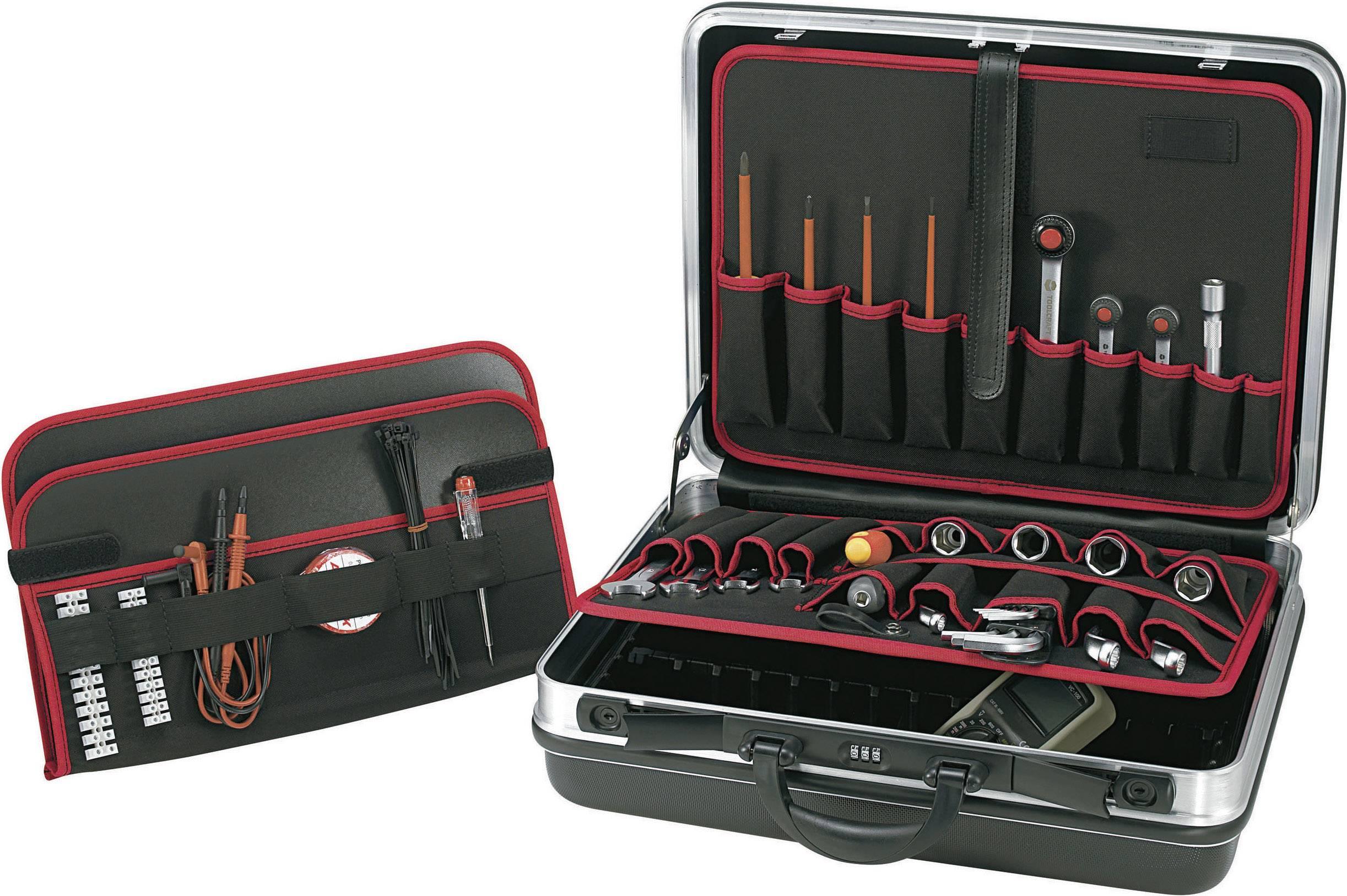 Kufřík na nářadí z tvrdé skořepiny TOOLCRAFT 821398, (d x š x v) 490 x 420 x 185 mm