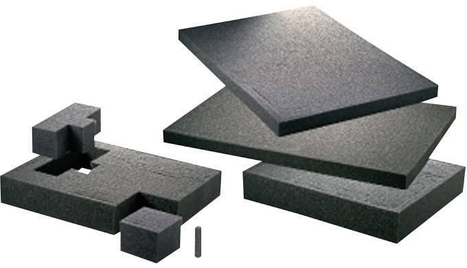 Penová vložka do kufra TOOLCRAFT (d x š x v) 640 x 440 x 20 mm