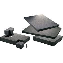 TOOLCRAFT Podložka z pěnové hmoty 1433382 rozměry: (d x š x v) 300 x 300 x 10 mm