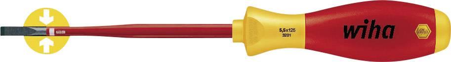 Plochý skrutkovač VDE Wiha SoftFinish electric slimFix 3201 35391, čepeľ 125 mm
