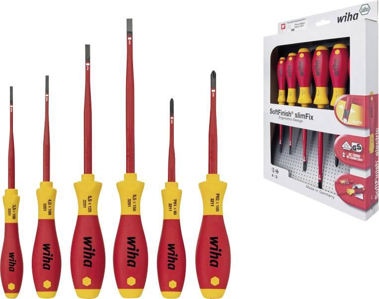 Sada skrutkovačov VDE Wiha SlimFix electric 35389, 6-dielna